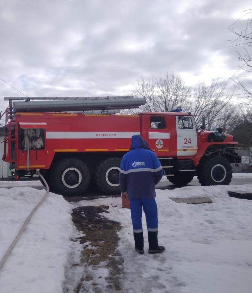 Пожар в Глушковском районе Курской области ликвидирован 01.03.2021