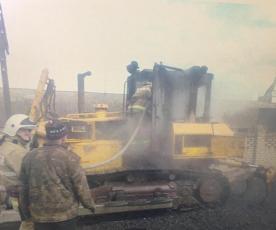 Пожар в г. Фатеж Фатежского района  Курской области ликвидирован