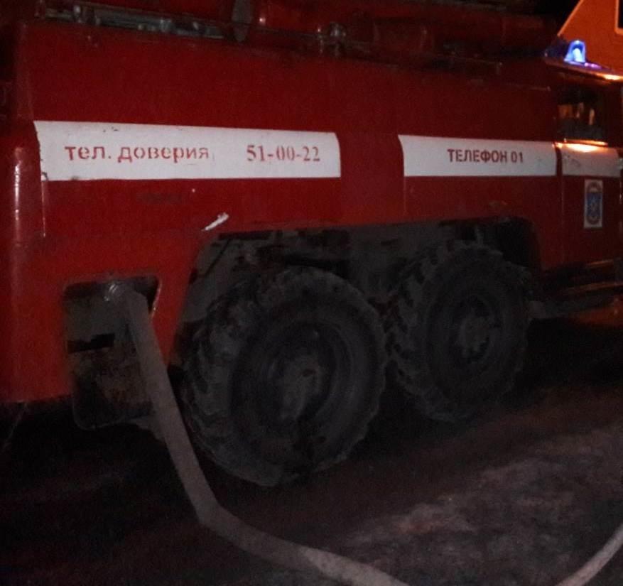 Пожар в Касторенском районе — МЧС России по Курской области