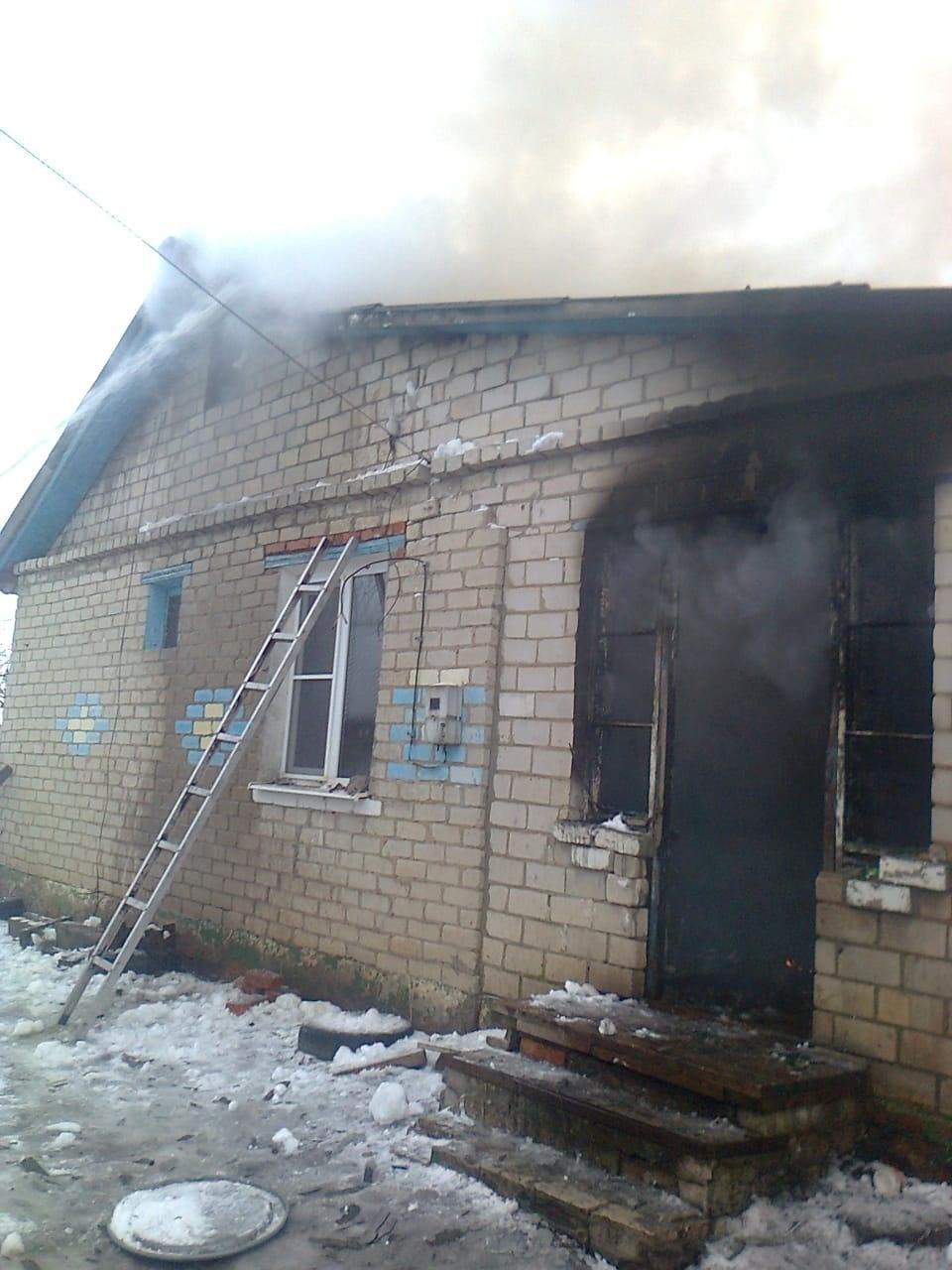 Пожар в с. Молотычи Фатежского района Курской области ликвидирован