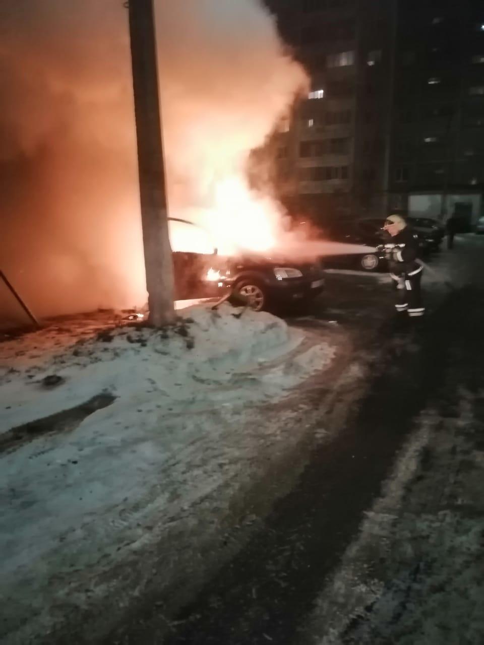 Пожар на ул. Ленина в г. Железногорске Курской области ликвидирован