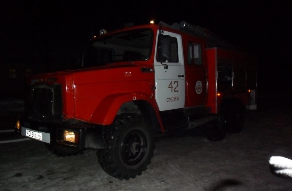 Пожар в д. Дьяковка Суджанского района Курской области ликвидирован