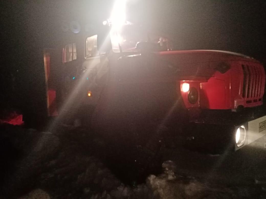 Пожар в д. Гавриловка Кореневского района