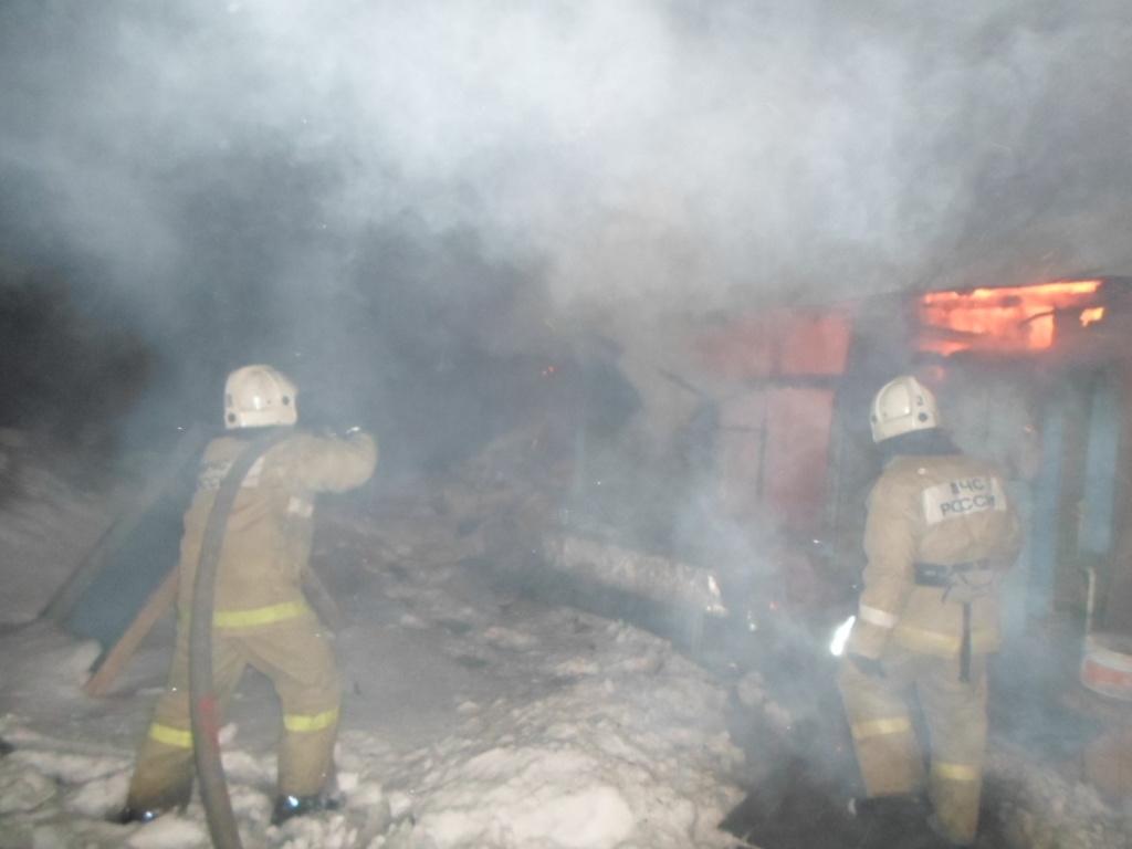 Пожар в п. Кшенский Советского района Курской области ликвидирован