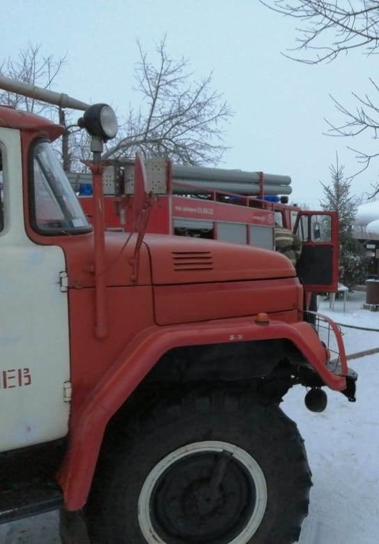Пожар в д. Воронино, Льговского района