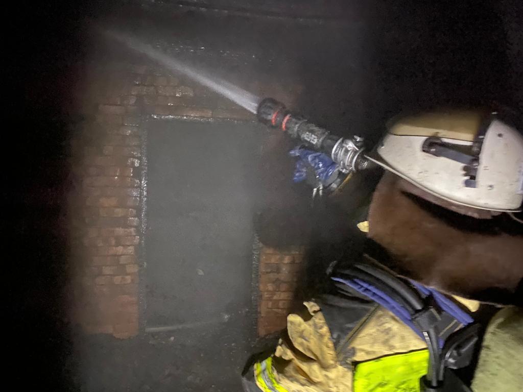 Пожар в г. Льгов ликвидирован 07.03.2021