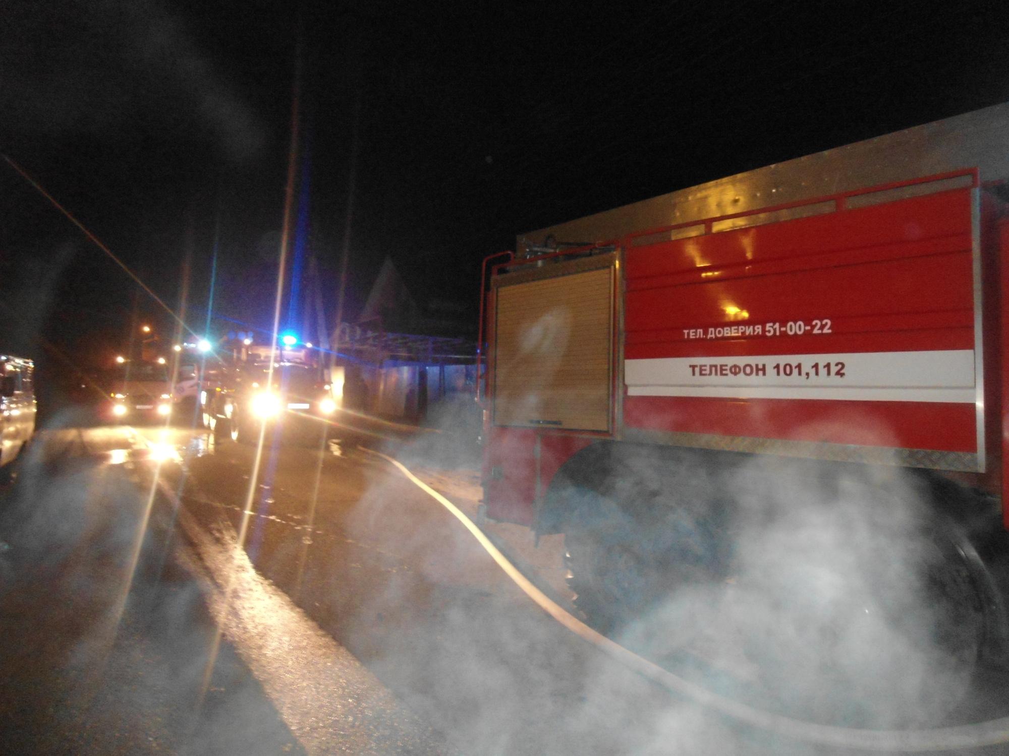 Пожар в г. Рыльск Рыльского района  Курской области ликвидирован