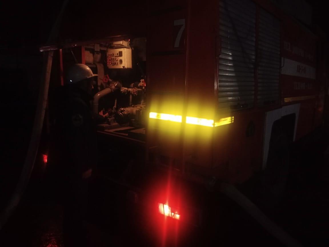 Пожар в г. Курчатов Курской области ликвидирован