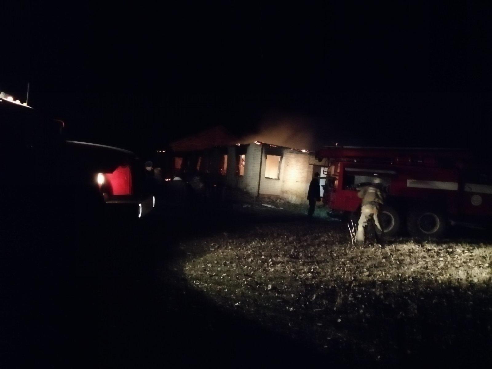 Пожар в Обоянском районе Курской области ликвидирован