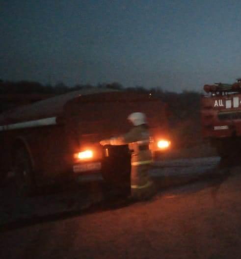 Пожар в Медвенском районе — МЧС России по Курской области