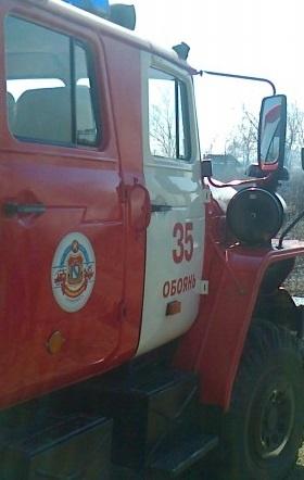 Пожар в селе Пушкарное Обоянского района