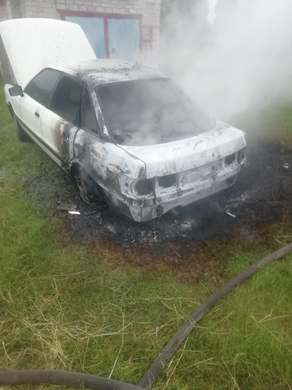 Пожар в п. Коренево Кореневского района Курской области ликвидирован