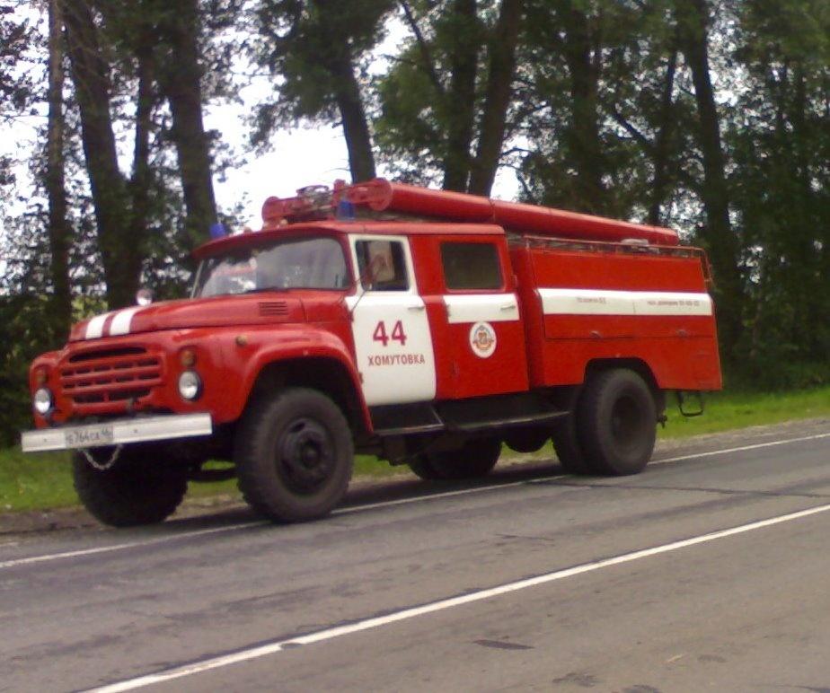 Пожар в х. Елизаветинский Хомутовского района