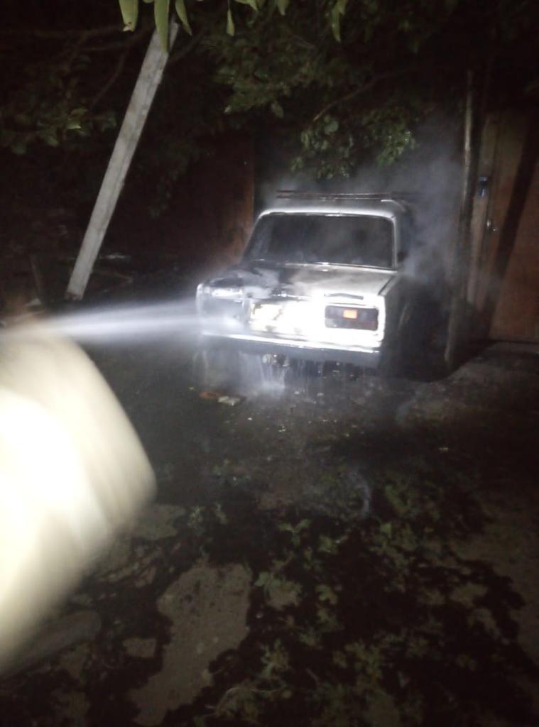 Пожар в с. Пушкарное Обоянского района Курской области ликвидирован