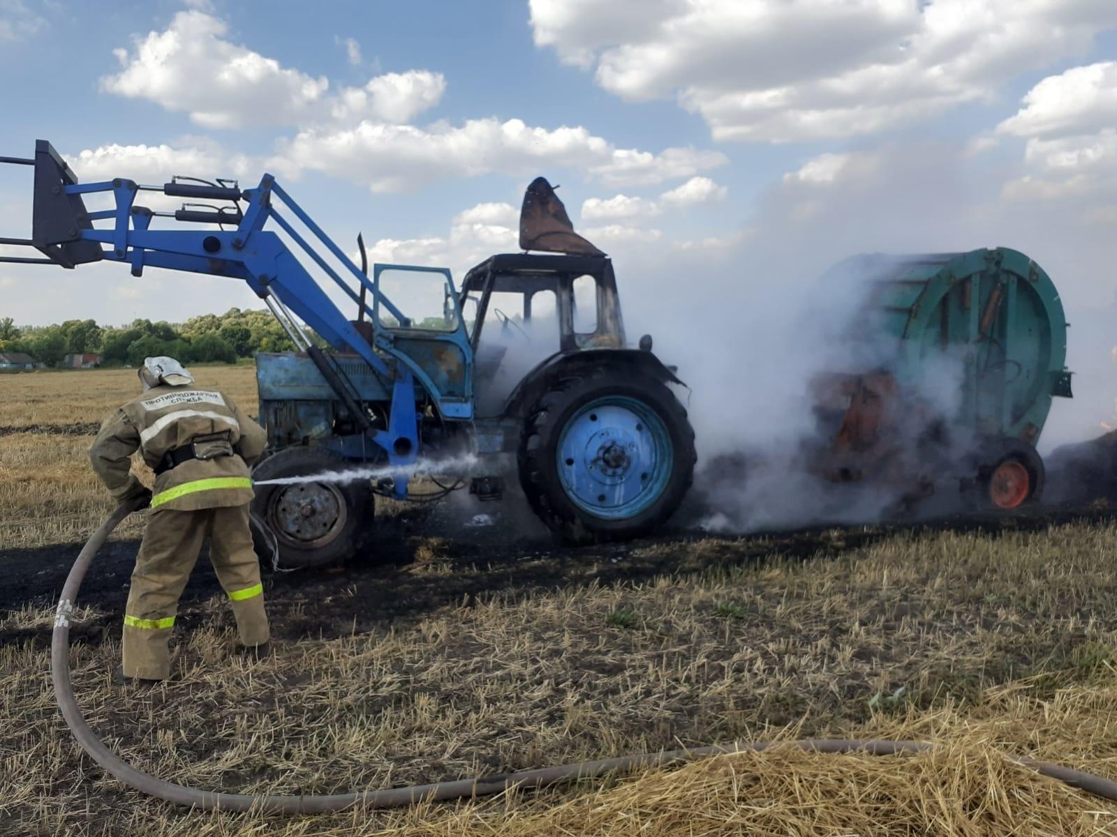 Пожар в  Фатежском районе ликвидирован 31.07.2021г.